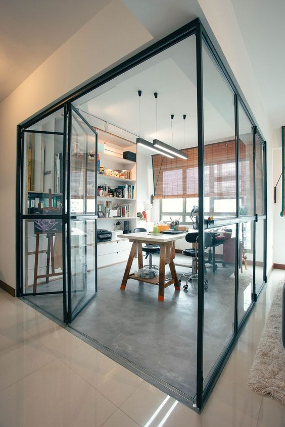 Hdb Study Room Design Ideas Part - 36: Awe-inspiring Ideas For Effective Independent Study Rooms - Home Ideas HQ
