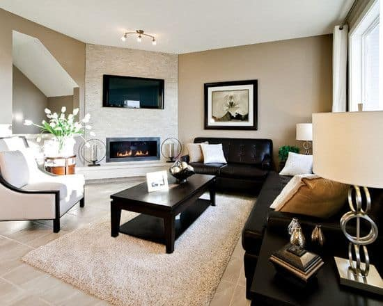 Effective Living Room Layouts for your Fireplace and TV  ~ 052309_Living Room Corner Fireplace Decorating Ideas