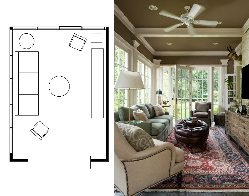 Marvelous narrow living room layouts solutions and for Design your own family room layout