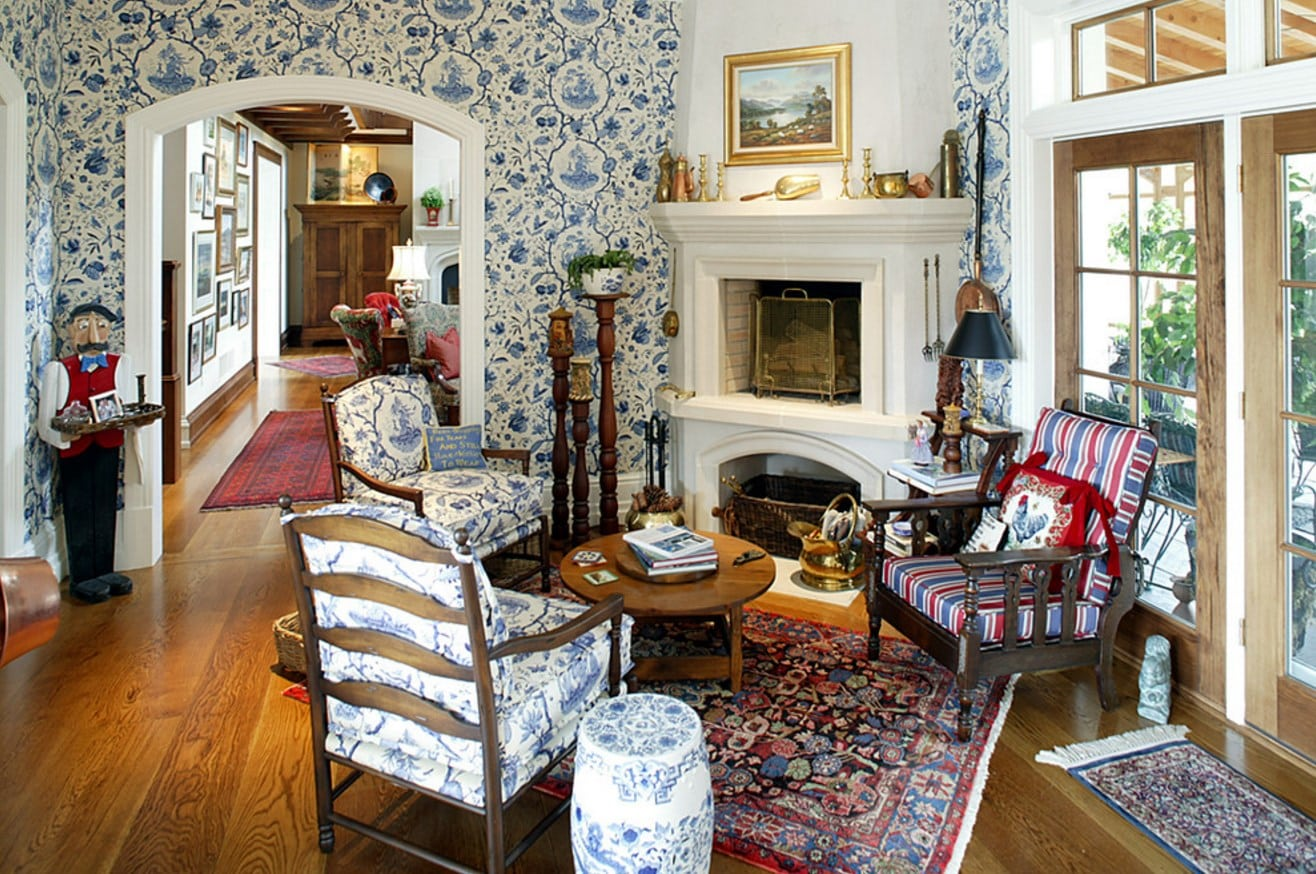 Great ideas on how to achieve a country living room home for English country living room ideas