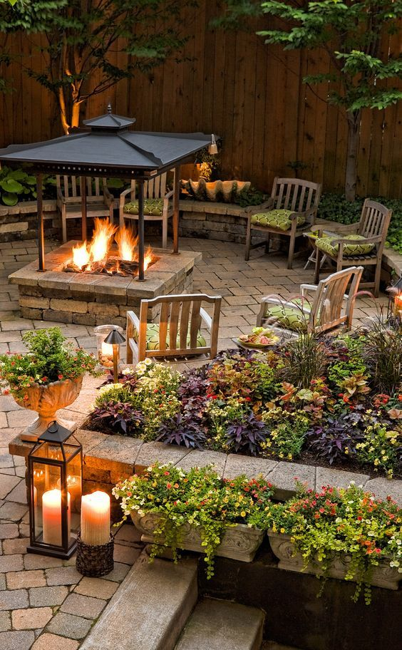 Home Garden Fireplace Designs : Significant outdoor fireplace ideas for your