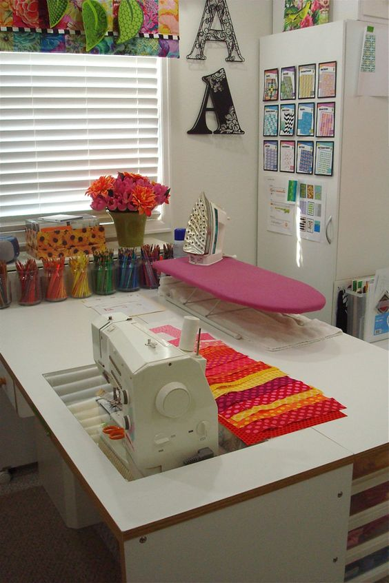 Sewing room ideas for an inspiring sewing space home Sewing room ideas for small spaces