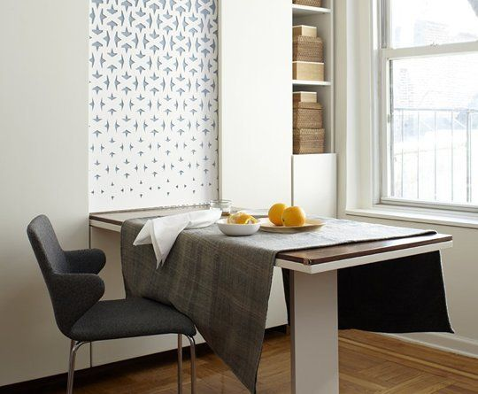 A useful design guide for your small dining room ideas for Small dining area solutions