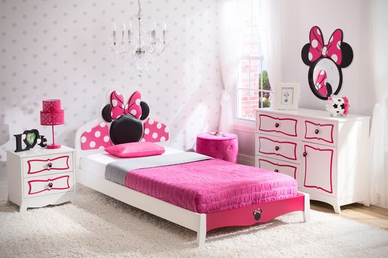 6 Adorable Minnie Mouse Room Ideas for Little Princesses - Home