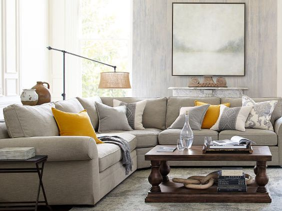 12 Inspiring Pottery Barn Ideas for Notable Living Rooms ...