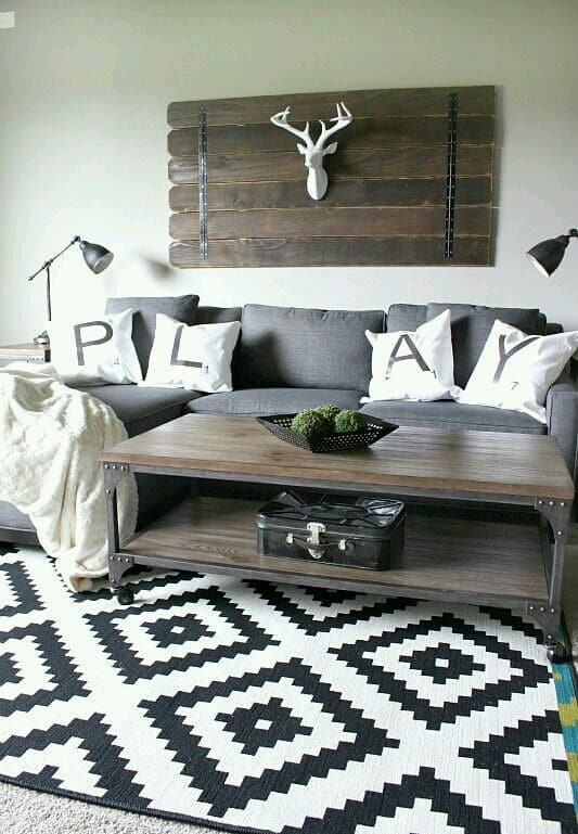 Rustic Ideas To Make Your Living Room