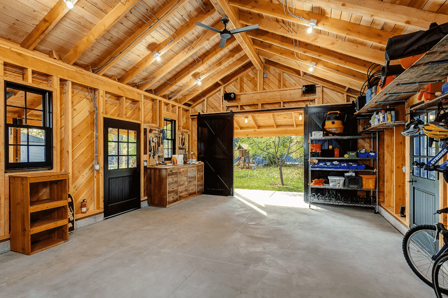 Outstanding Color Ideas to Make Your Garage Exceptional ... on Garage Colors  id=17303