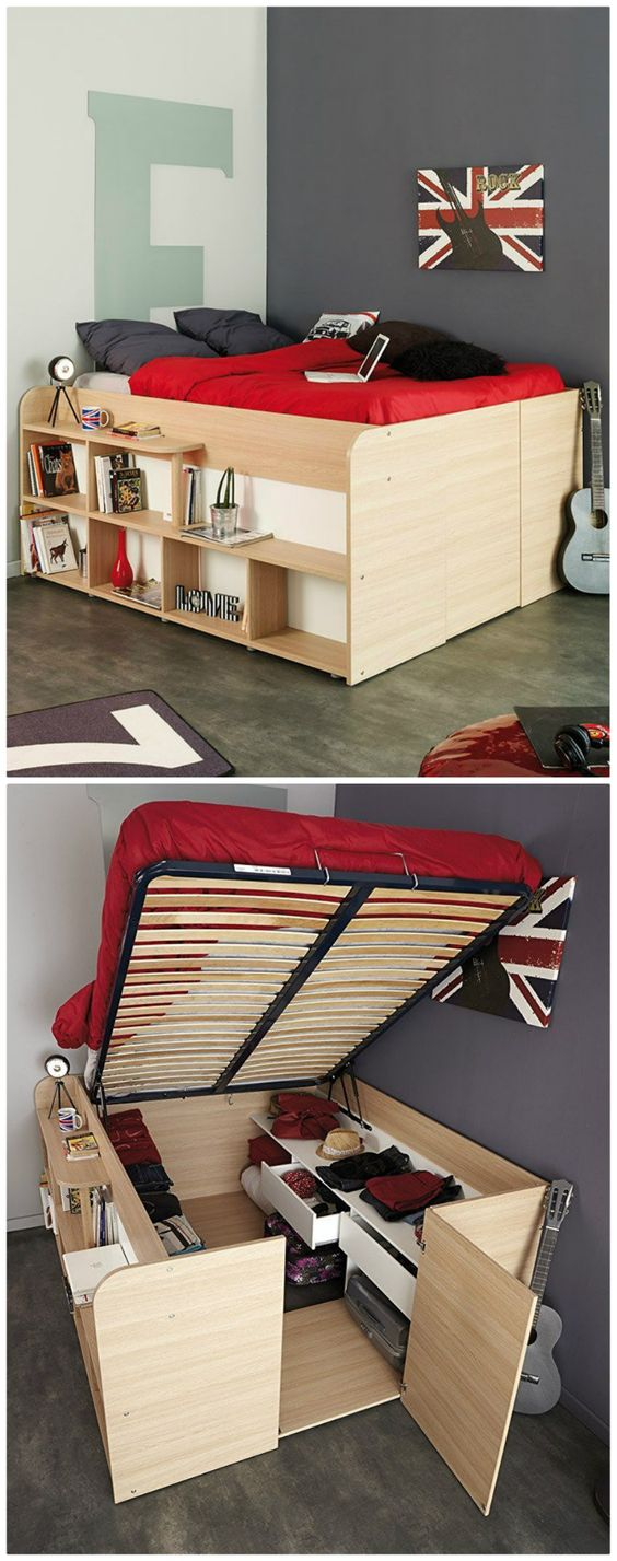 Clever And Innovative Modern Bed Designs With Storage Home Ideas Hq,Cool Elementary School T Shirt Design Ideas