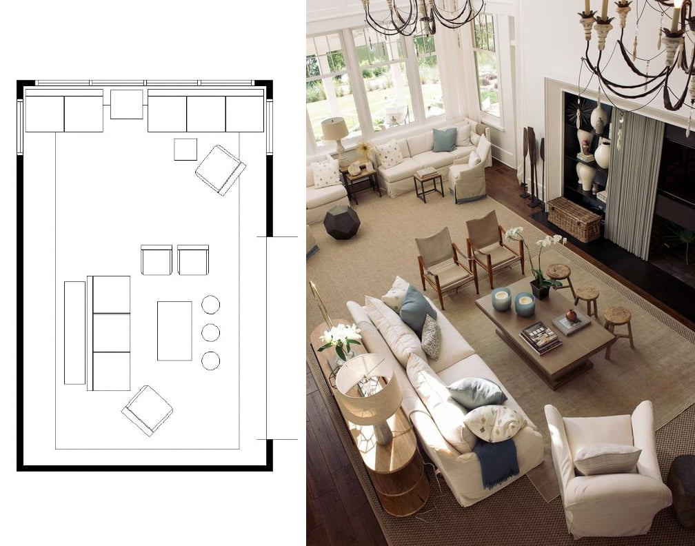 Marvelous Narrow Living Room Layouts: Solutions and Designs - Home