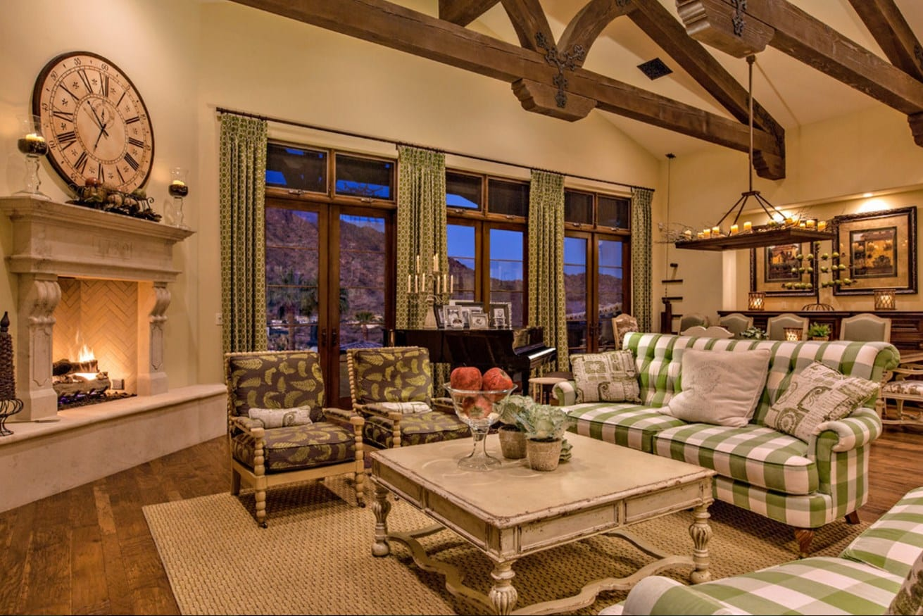 Great Ideas On How To Achieve A Country Living Room Home Ideas Hq