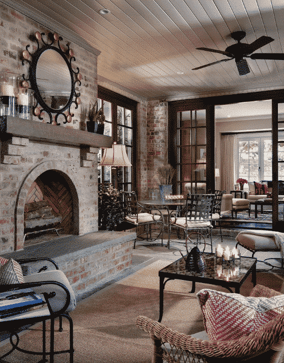 Your Guide To The Best Brick Wall Fireplace Ideas