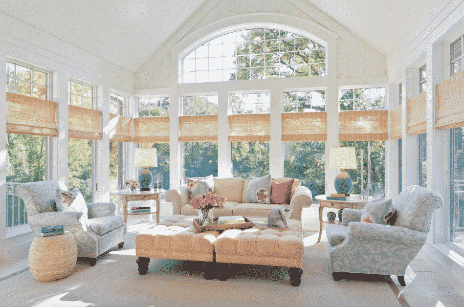 Wondrous Window Treatment Ideas For Large Windows In Living Room