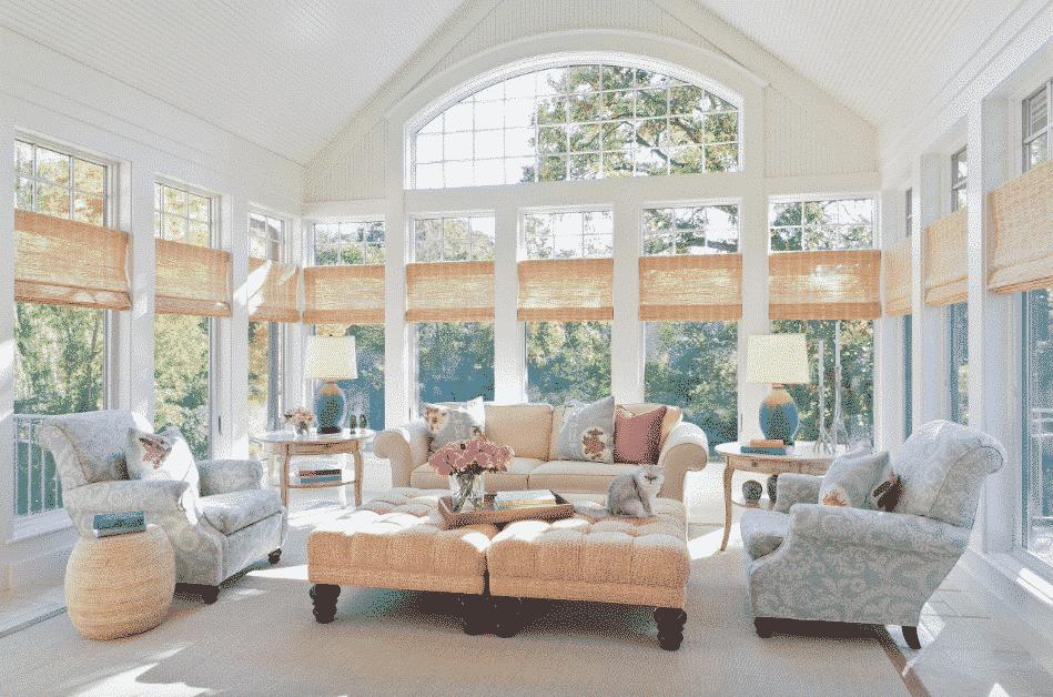 Design Ideas Fancy Style Of Big Window Treatment Ideas 50 Wtsenates